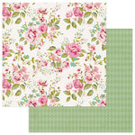 Photo Play Paper - Vintage Girl Collection - 12 x 12 Double Sided Paper - Romance