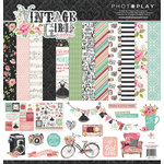 Photo Play Paper - Vintage Girl Collection - 12 x 12 Collection Pack