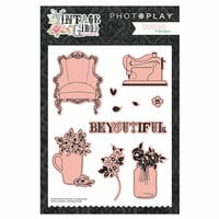 Photo Play Paper - Vintage Girl Collection - Die Set