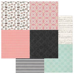Photo Play Paper - Vintage Girl Collection - Tiny Prints - 12 x 12 Double Sided Paper - Quad 1