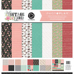 Photo Play Paper - Vintage Girl Collection - Tiny Prints - 12 x 12 Collection Pack