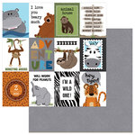 Photo Play Paper - We Bought a Zoo Collection - 12 x 12 Double Sided Paper - Roar