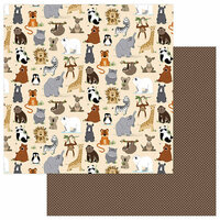 Photo Play Paper - We Bought a Zoo Collection - 12 x 12 Double Sided Paper - Wild Thing