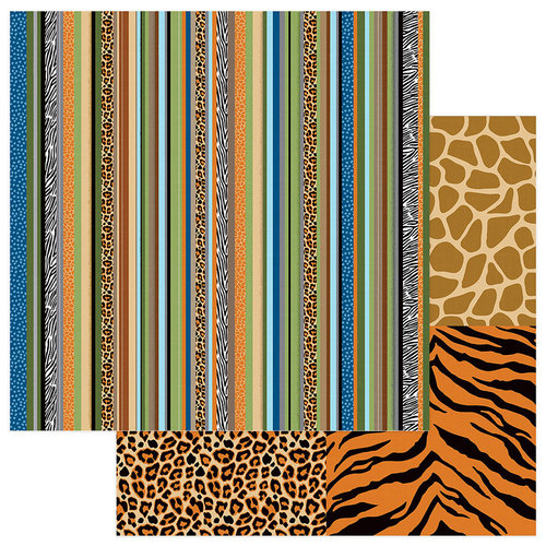 Photo Play Paper - We Bought a Zoo Collection - 12 x 12 Double Sided Paper - Zoo Keeper
