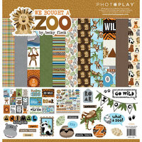 Photo Play Paper - We Bought a Zoo Collection - 12 x 12 Collection Pack