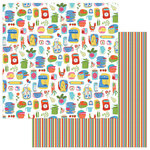 Photo Play Paper - What's Cooking Collection - 12 x 12 Double Sided Paper - In the Kitchen