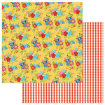 Photo Play Paper - What's Cooking Collection - 12 x 12 Double Sided Paper - Tablecloth