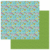 Photo Play Paper - What's Cooking Collection - 12 x 12 Double Sided Paper - Chicken Coop