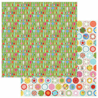 Photo Play Paper - What's Cooking Collection - 12 x 12 Double Sided Paper - Utensils