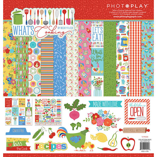 Photo Play Paper - What's Cooking Collection - 12 x 12 Collection Pack