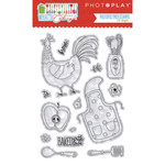 Photo Play Paper - What's Cooking Collection - Clear Photopolymer Stamps