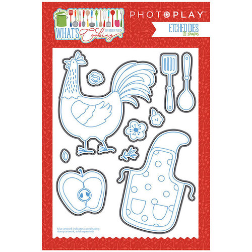 Photo Play Paper - What's Cooking Collection - Die Set