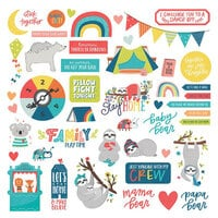 Photo Play Paper - We Can Just Stay Home Collection - 12 x 12 Cardstock Stickers - Elements
