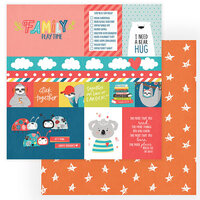 Photo Play Paper - We Can Just Stay Home Collection - 12 x 12 Double Side Paper - Stick Together
