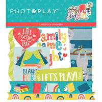 Photo Play Paper - We Can Just Stay Home Collection - Ephemera