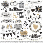 Photo Play Paper - We Do Collection - 12 x 12 Cardstock Stickers - Elements