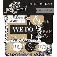 Photo Play Paper - We Do Collection - Die Cut Cardstock Pieces - Ephemera