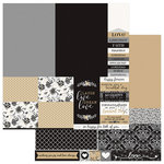 Photo Play Paper - We Do Collection - 12 x 12 Double Sided Paper - a la Card A7