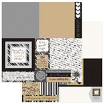 Photo Play Paper - We Do Collection - 12 x 12 Double Sided Paper - a la Card SQ