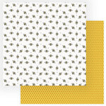 Photo Play Paper - Wild Honey Collection - 12 x 12 Double Sided Paper - Busy Bee