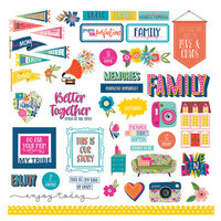 Photo Play Paper - Wicker Lane Collection - Element Stickers