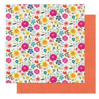 Photo Play Paper - Wicker Lane Collection - 12 x 12 Double Sided Paper - Gather Together