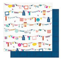 Photo Play Paper - Wicker Lane Collection - 12 x 12 Double Sided Paper - We Are Family