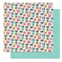 Photo Play Paper - Wicker Lane Collection - 12 x 12 Double Sided Paper - Moments