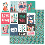 Photo Play Paper - Wild Love Collection - 12 x 12 Double Sided Paper - Wild Love