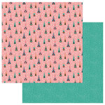 Photo Play Paper - Wild Love Collection - 12 x 12 Double Sided Paper - Live Wild