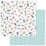 Photo Play Paper - Wild Love Collection - 12 x 12 Double Sided Paper - Crazy For You