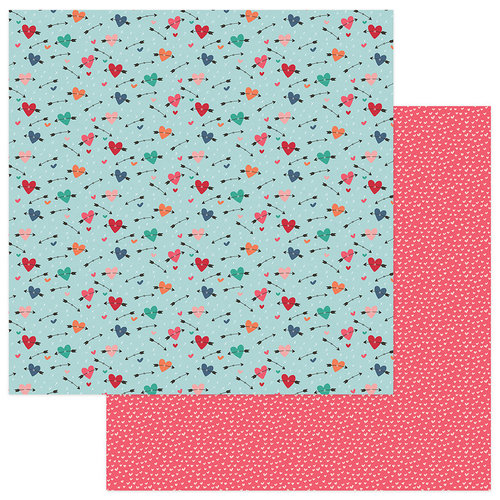 Photo Play Paper - Wild Love Collection - 12 x 12 Double Sided Paper - Thief Of Hearts
