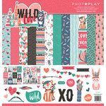 Photo Play Paper - Wild Love Collection - 12 x 12 Collection Pack
