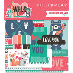 Photo Play Paper - Wild Love Collection - Ephemera