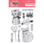 Photo Play Paper - Wild Love Collection - Clear Acrylic Stamps