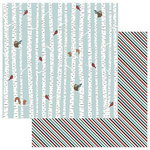 Photo Play Paper - Winter Meadow Collection - Christmas - 12 x 12 Double Sided Paper - Winter Friends
