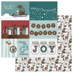 Photo Play Paper - Winter Meadow Collection - Christmas - 12 x 12 Double Sided Paper - Winter Trimmings