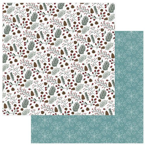 Photo Play Paper - Winter Meadow Collection - Christmas - 12 x 12 Double Sided Paper - Winter Joy