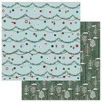 Photo Play Paper - Winter Meadow Collection - Christmas - 12 x 12 Double Sided Paper - Winter Woods