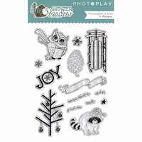 Photo Play Paper - Winter Meadow Collection - Christmas - Clear Acrylic Stamps