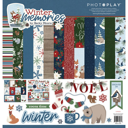 Photo Play Paper - Winter Memories Collection - 12 x 12 Collection Pack