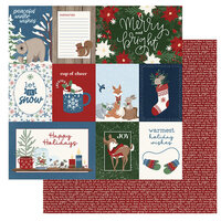 Photo Play Paper - Winter Memories Collection - 12 x 12 Double Sided Paper - Greetings