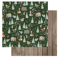 Photo Play Paper - Winter Memories Collection - 12 x 12 Double Sided Paper - Gathering