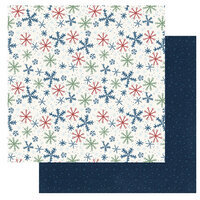 Photo Play Paper - Winter Memories Collection - 12 x 12 Double Sided Paper - First Snow