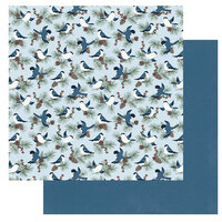 Photo Play Paper - Winter Memories Collection - 12 x 12 Double Sided Paper - Winter Dwellers