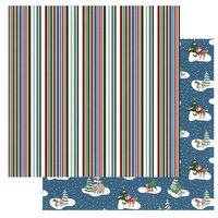 Photo Play Paper - Winter Memories Collection - 12 x 12 Double Sided Paper - Woodland Friends