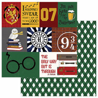Color Play - Wizard World Collection - 12 x 12 Double Sided Paper - Always