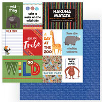 Photo Play Paper - A Walk On The Wild Side Collection - 12 x 12 Double Sided Paper - Wild Thing