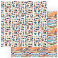 Photo Play Paper - A Walk On The Wild Side Collection - 12 x 12 Double Sided Paper - Go Wild