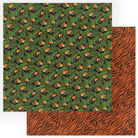 Photo Play Paper - A Walk On The Wild Side Collection - 12 x 12 Double Sided Paper - Toucans